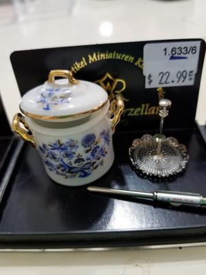 Reutter Porzellan - Blue Onion Canning Set