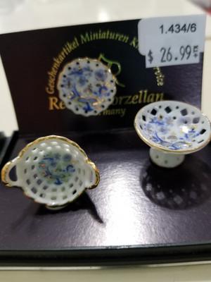 Reutter Porzellan - Blue Onion Platter Set