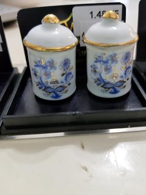 Reutter Porzellan - Blue Onion Cannister Set