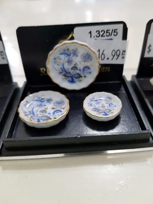 Reutter Porzellan - Blue Onion Casserole Pan Set