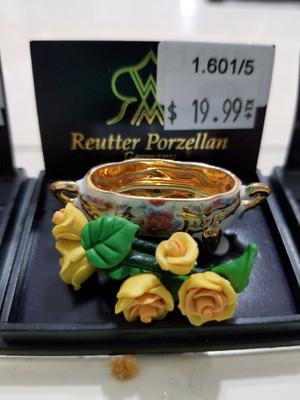 Reutter Porzellan -  Bowl of Yellow Roses