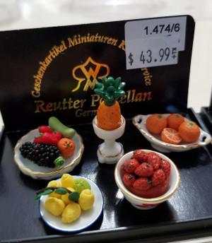 Reutter Porzellan - Various Fruit in Bowls