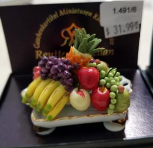 Reutter Porzellan - Various Fruit on Tray