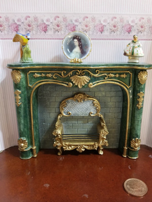 Reutter Porzellan - Fireplace with Accessories