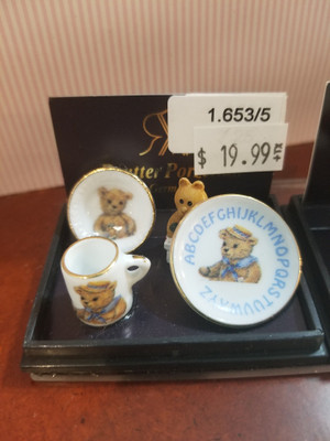 Reutter Porzellan - Teddy ABC Breakfast Set