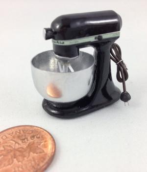 Black Electric Mixer