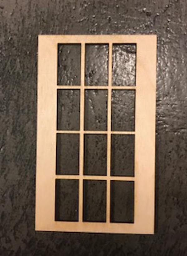 "12 Lite Window - 3""x5"""