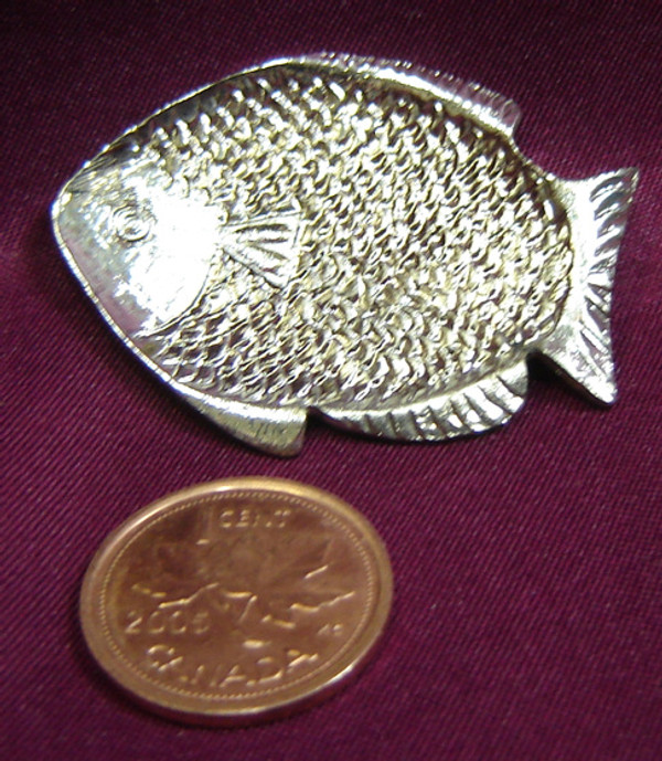 Fish Shaped Metal Tray