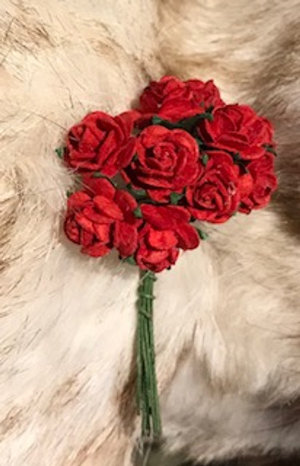 Red Paper Roses
