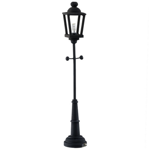LED Black  Lamp Post