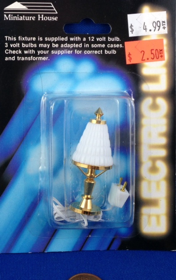 White Shaded Table Lamp