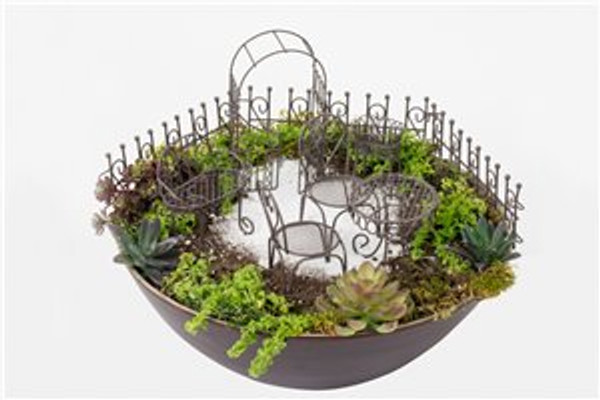 6 Pc. Wire Garden Set (Arbour)