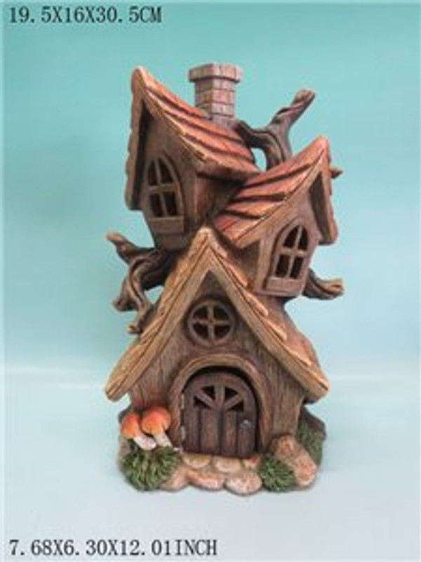 Fairy Tri-House with Chimney