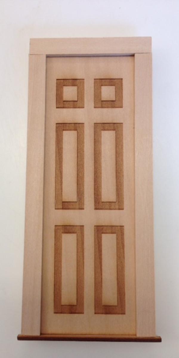 Solid Wooden Door - Fairy Door