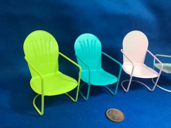 Metal Chair - Choice of Colour