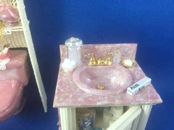 Wicker Bathroom Set by Debi Kolenchuk, Embraceables