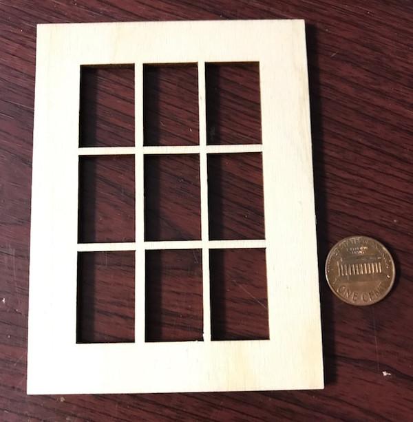 "9 Lite Window - 3""x 4"""