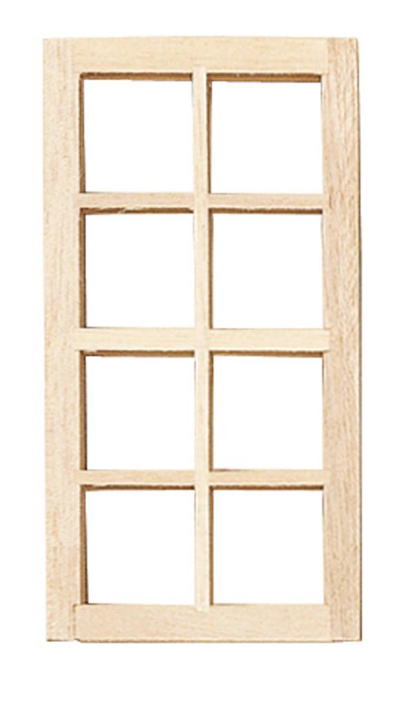 1/24 Scale Standard 8-Light Window