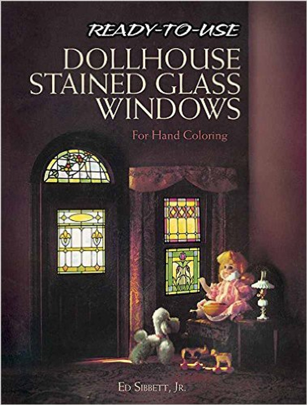 """Dollhouse Stained Glass Windows"" Book"