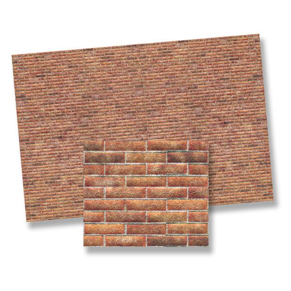 1/12 Scale Brick Paper - Light