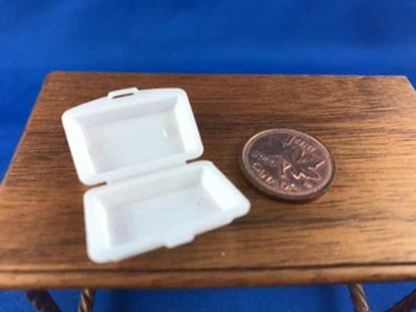 Sandwich in Take Out Container