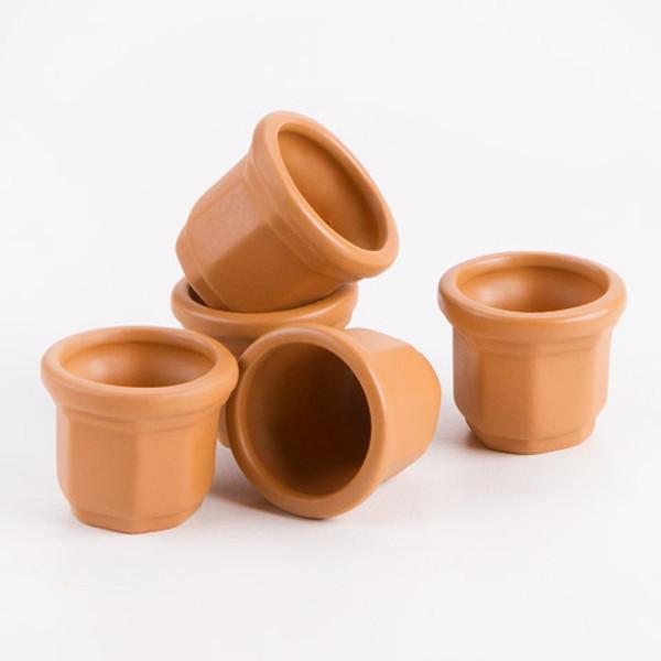 Clay Pots - Set of 5
