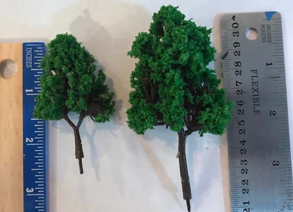 1/24 Scale Trees