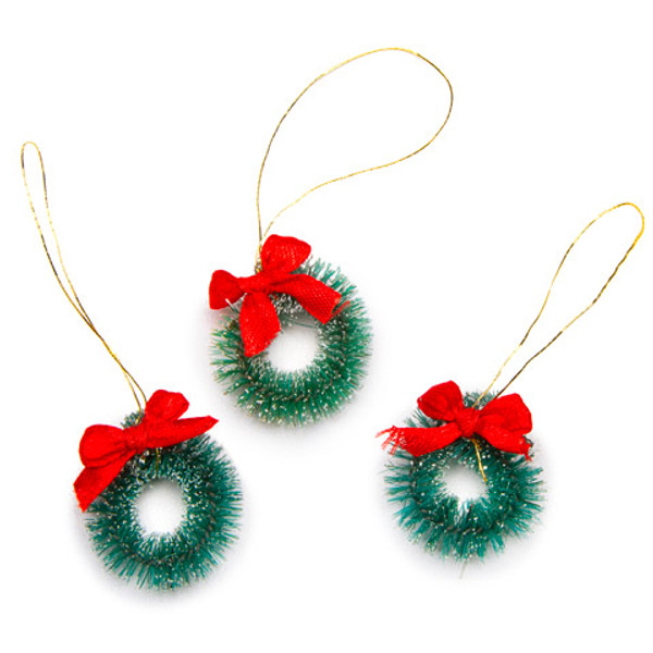 Christmas Wreath - set of 3