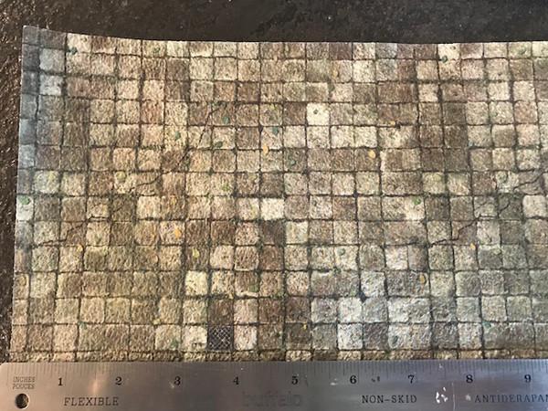 Textured Paper - Grey Floor Tile
