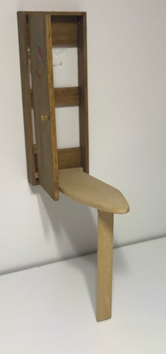 Fold Down Cabinet Ironing Board