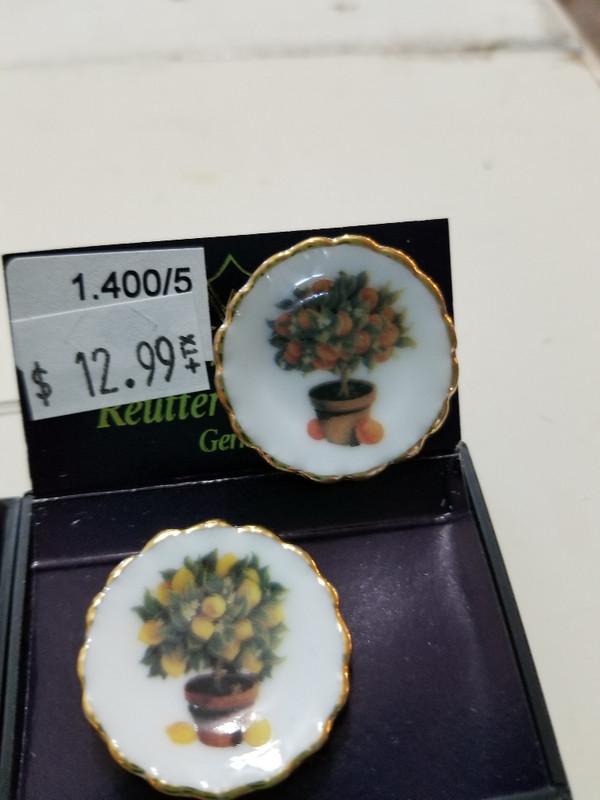 Reutter Porzellan -  Pair of Tree Plates