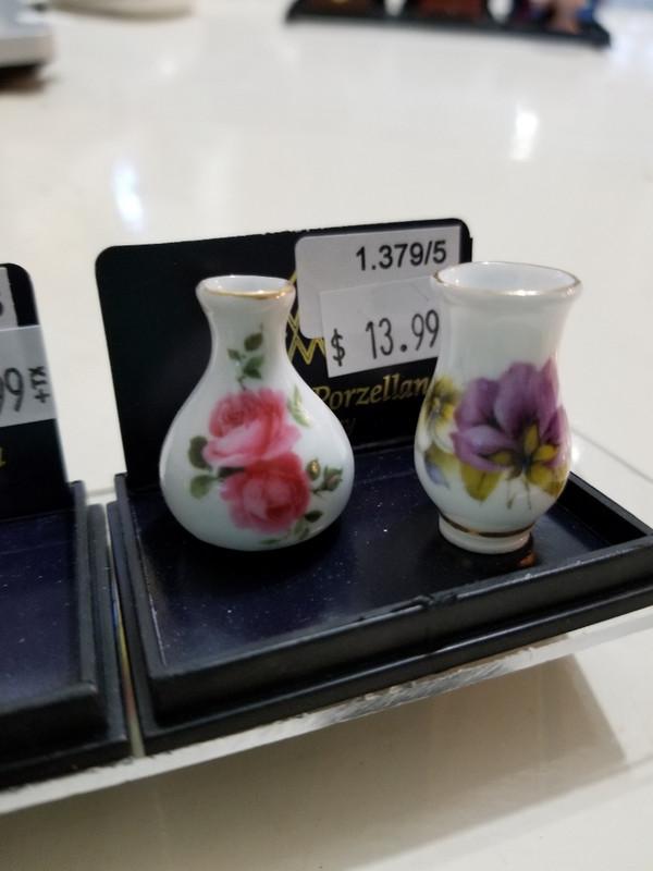 Reutter Porzellan - Flowered Vase Set of 2
