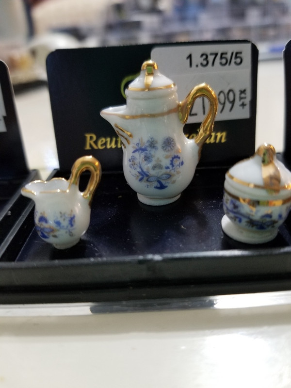 Reutter Porzellan - Blue Onion Coffee Pot Set