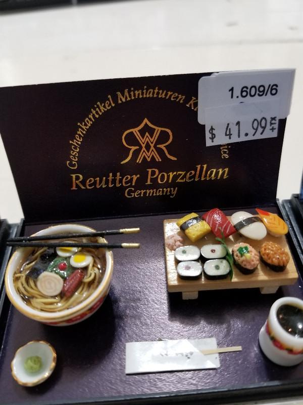 Reutter Porzellan - Japanese Sushi Set