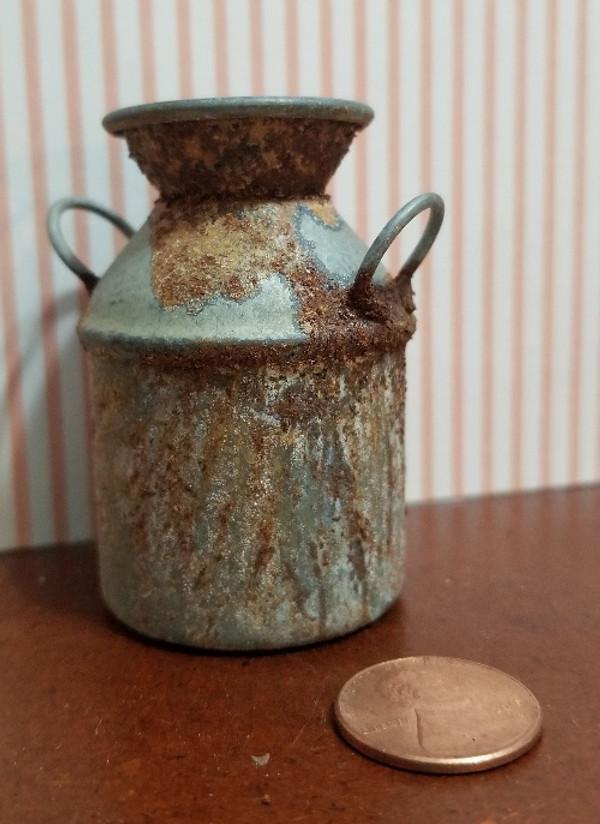 Rusty Tin Milk Can