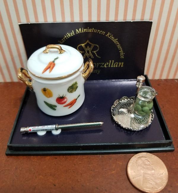 Reutter Porzellan - Vegetable Design Canning Set