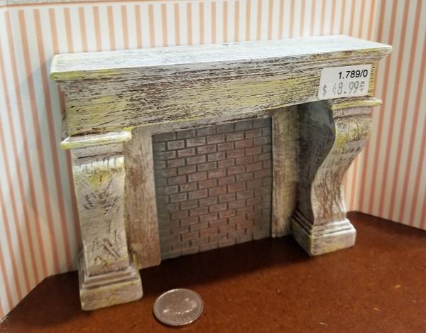 Reutter Porzellan -   Rustic Fireplace