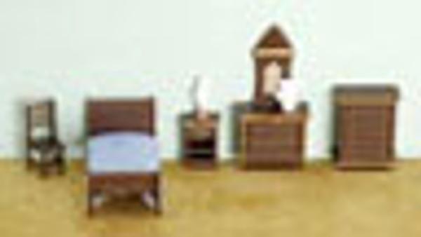 "1/4"" Scale Bedroom Set"