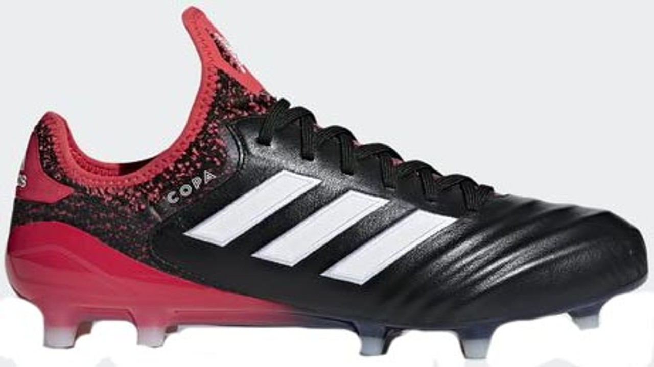 Adidas Copa FG Soccer cleat negro / blanco / real coral Soccer Plus