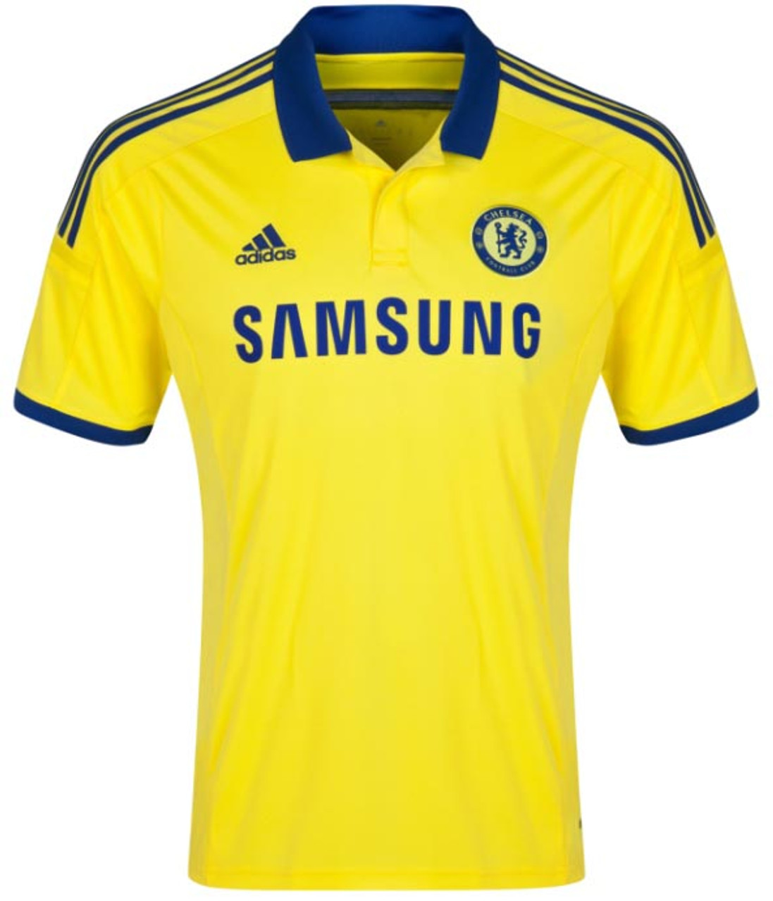 ADIDAS CHELSEA 2015 AWAY JERSEY YELLOW