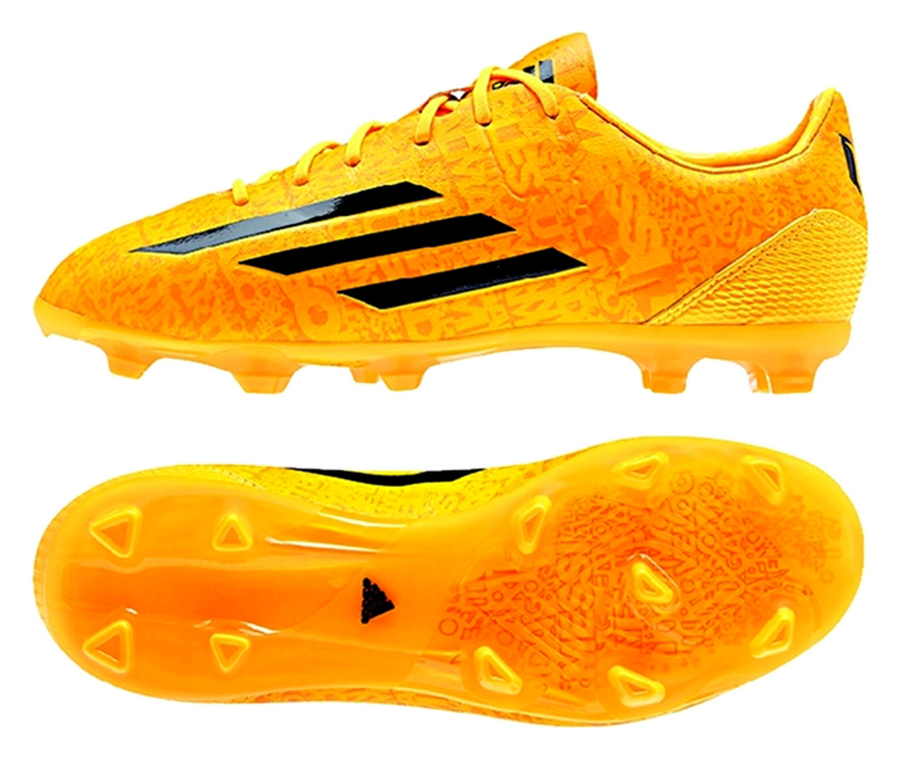 ADIDAS F50 ADIZERO FG MESSI GOLD firm ground soccer cleats