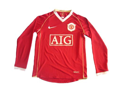 4b9095a7e NIKE MANCHESTER UNITED 2007 BOYS HOME L S JERSEY - Soccer Plus