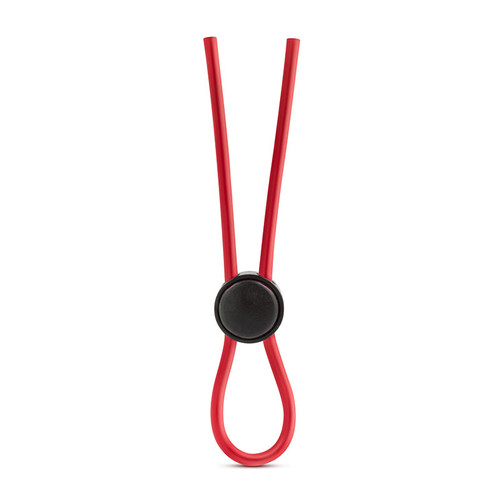 Red Blush Novelties Stay Hard  Silicone One Size Fits Loop Lasso Cock Ring
