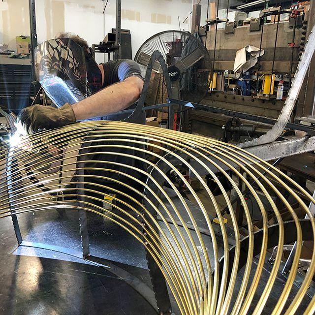 Brass Paralounger A Handcrafted Work of Art