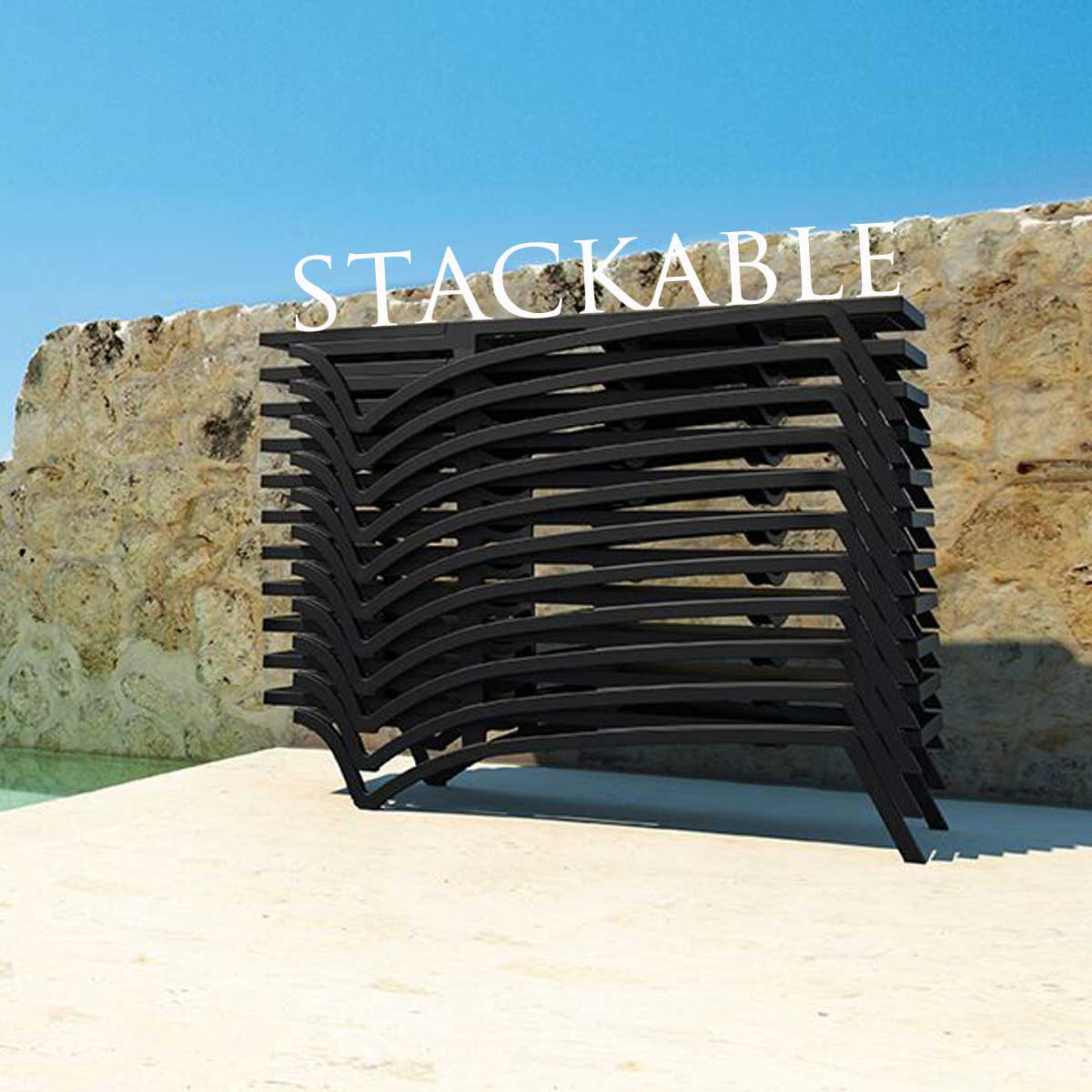 Stackable Playa Chaise