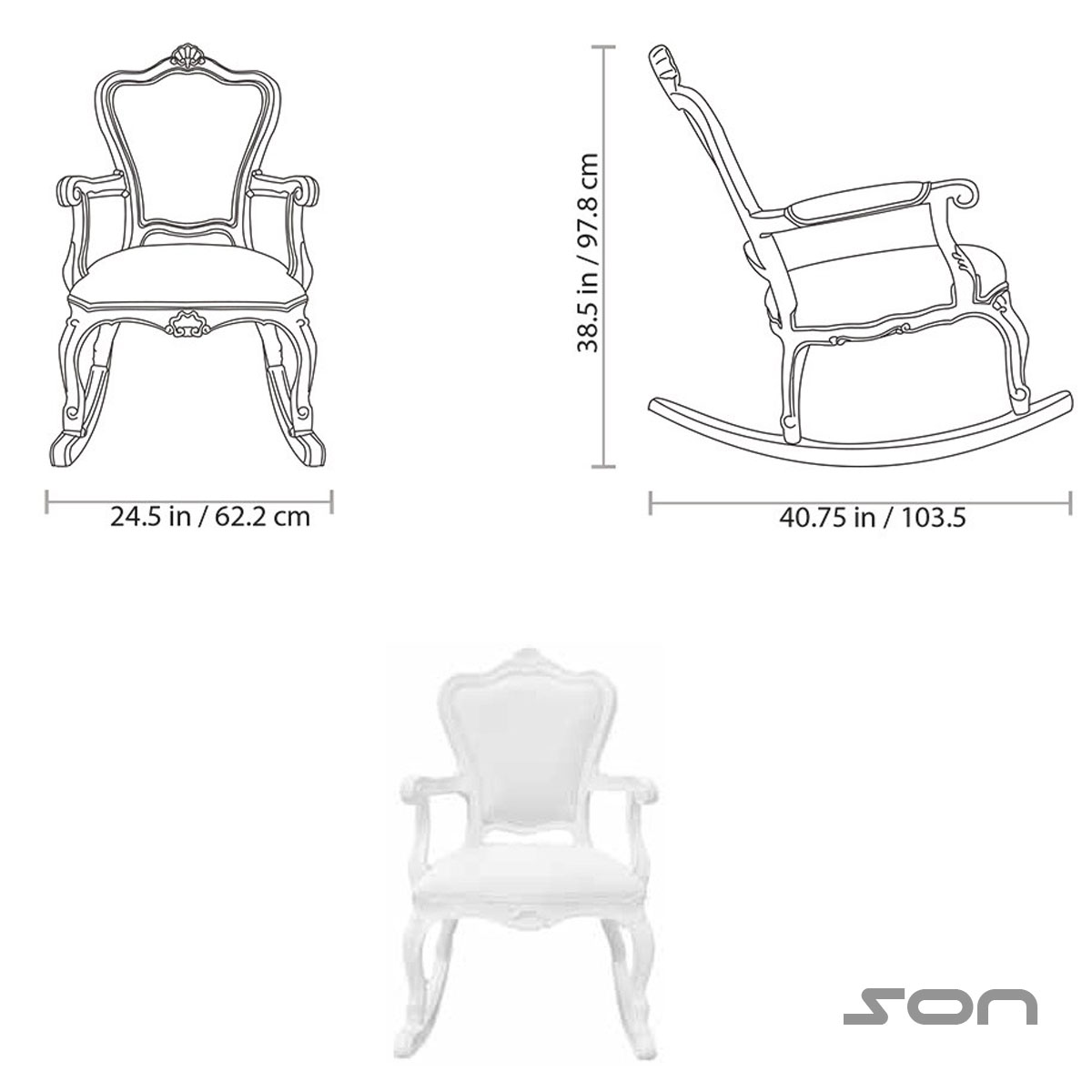 Small Chair Dimensions
