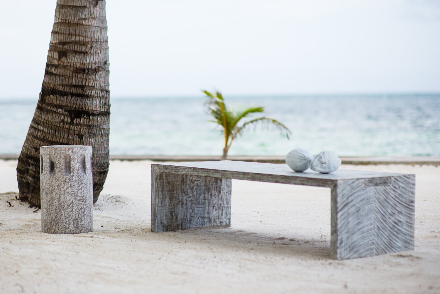 Waterfall Table on beach