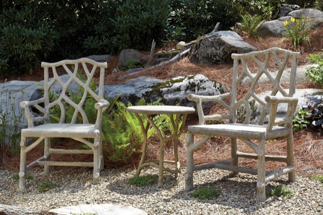 woodland-chairs from Currey and Company