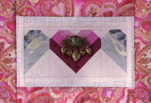 Love's Fluttering Wings Paper Pieced Quilt Pattern