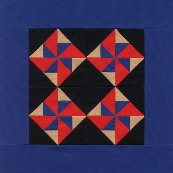 Amish Pinwheel Paper Pieced Quilt Pattern
